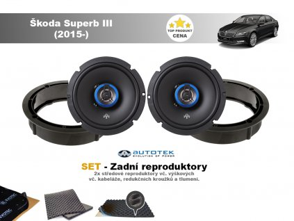 zadni repro Škoda Superb III (2015 )