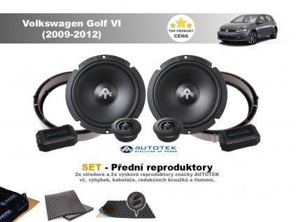 predni repro Volkswagen Golf VI (2009 2012)