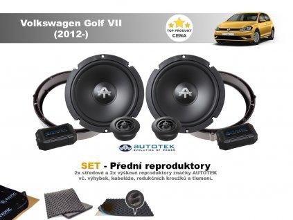 predni repro Volkswagen Golf VII (2012 )