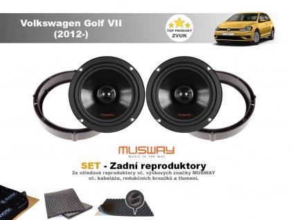 zadni repro Volkswagen Golf VII (2012 )