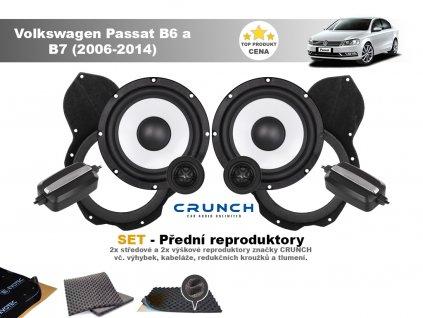 predni repro Volkswagen Passat B6 a B7 (2006 2014)