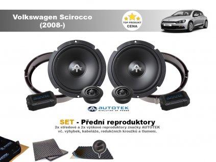 predni repro Volkswagen Scirocco (2008 )