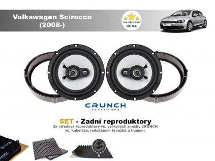zadni repro Volkswagen Scirocco (2008 )