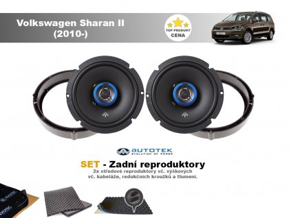 zadni repro Volkswagen Sharan II (2010 )