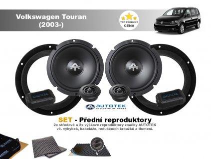 predni repro Volkswagen Touran (2003 )