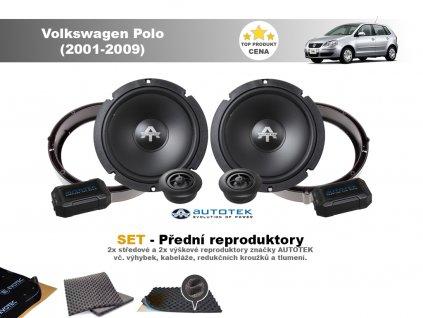 predni repro Volkswagen Polo (2001 2009)