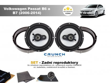 zadni repro Volkswagen Passat B6 a B7 (2006 2014)