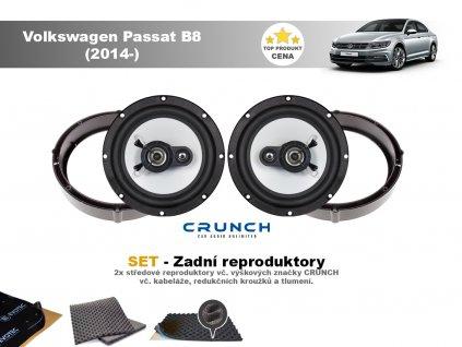 zadni repro Volkswagen Passat B8 (2014 )