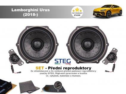 přední repro do Lamborghini Urus (2018 )