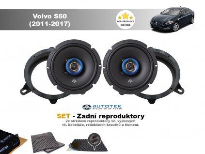 zadni repro Volvo V60 (2011 2017)