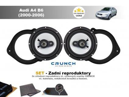 zadni repro Audi A4 B6 (2000 2006)