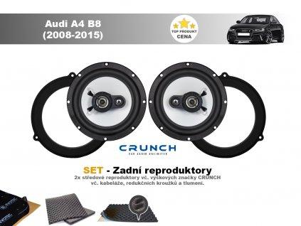 zadni repro Audi A4 B8 (2008 2015)