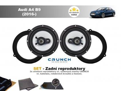 zadni repro Audi A4 B9 (2016 )