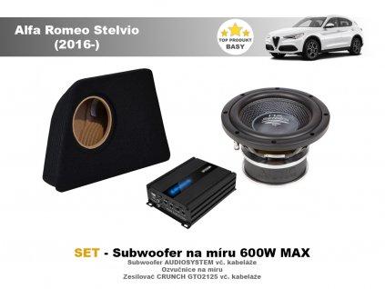 Alfa Romeo Stelvio (2016 ) audiotec