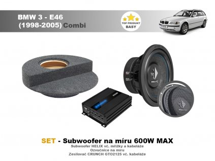 Subwoofery na míruBMW E46
