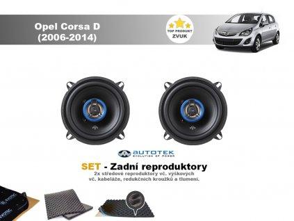 zadni repro Opel Corsa D (2006 2014)