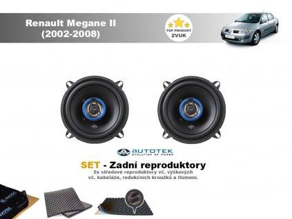 zadni reproduktory Renault Megane II (2002 2008)