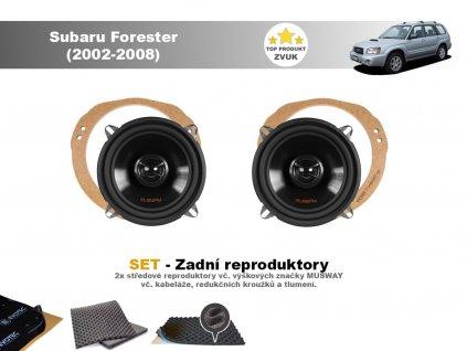 zadni repro Subaru Forester (2002 2008)