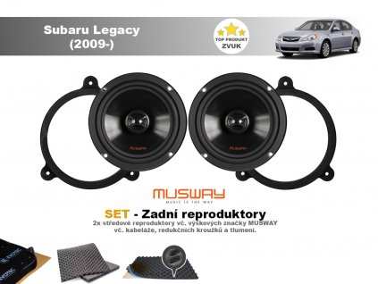 zadni repro Subaru Legacy (2009 )