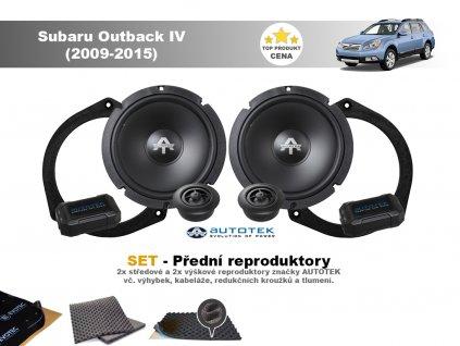 predni repro Subaru Outback IV (2009 2015)