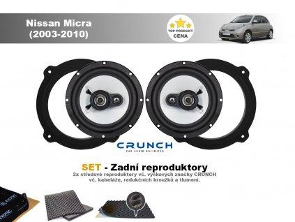 zadni repro Nissan Micra (2003 2010)
