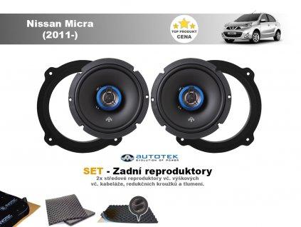 zadni repro Nissan Micra (2011 )