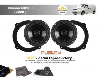 zadni repro Nissan NV200 (2009 )