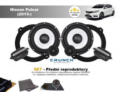 predni repro Nissan Pulsar (2015 )