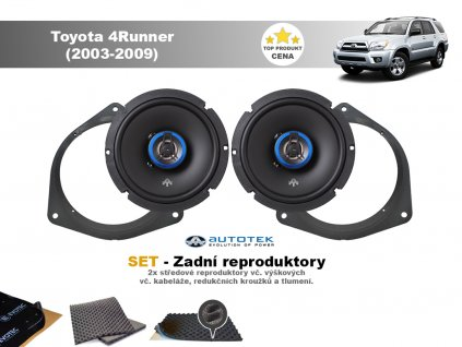 zadni repro Toyota 4Runner (2003 2009)
