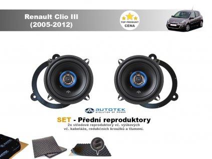 predni repro Renault Clio III (2005 2012)