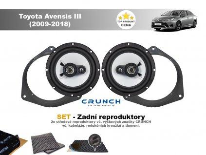 zadni repro Toyota Avensis III (2009 2018)