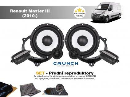 predni repro Renault Master III (2010 )