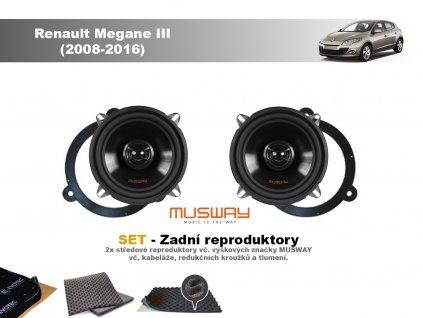 zadni repro Renault Megane III (2008 2016)