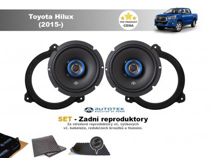 zadni repro Toyota Hilux (2015 )