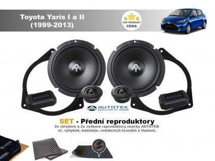 predni repro Toyota Yaris I a II (1999 2013)