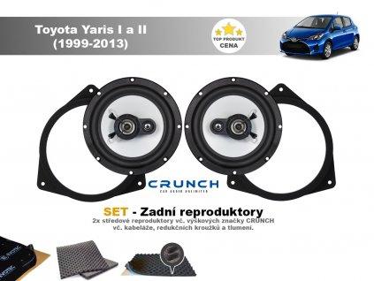 zadni repro Toyota Yaris I a II (1999 2013)