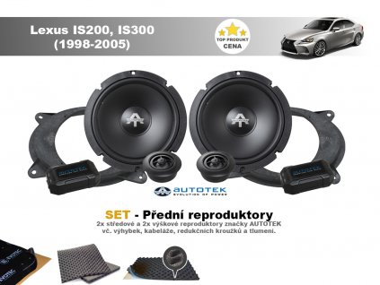 predni repro Lexus IS200, IS300 (1998 2005)