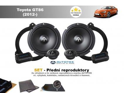 predni repro Toyota GT86 (2012 )