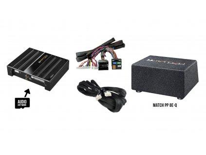 Match set pro kompletní ozvučení - AUDI a SEAT