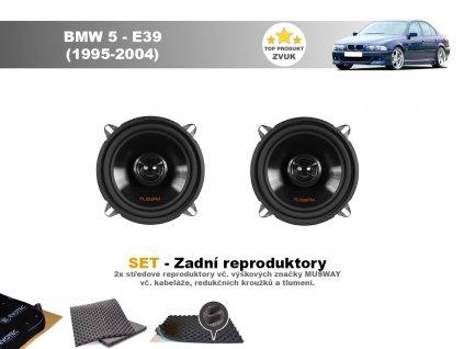 zadni repr musway BMW 5 E39