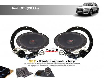 predni repro Audi Q3 (2011 )