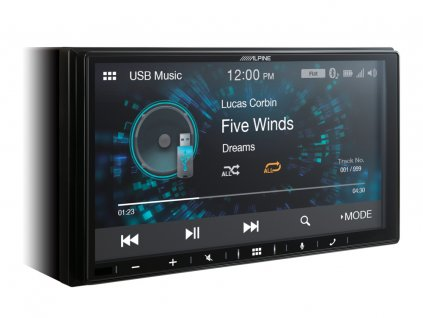 iLX W650BT Digital Media Station USB Music