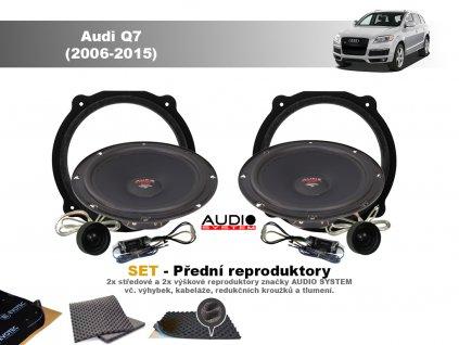 predni repro Audi Q7 (2006 2015)