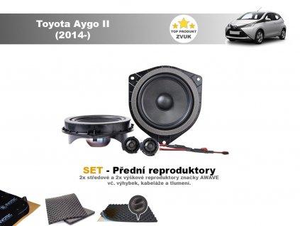 Toyota Aygo II Awave predni final