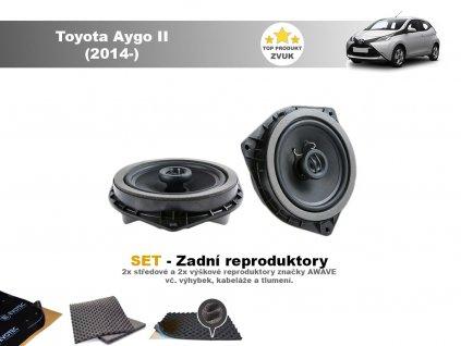 Toyota Aygo II Awave zadni final