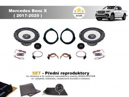 Mercedes Benz X (2017 2020) M predni final