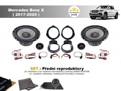 Mercedes Benz X (2017 2020) X predni final