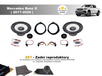 Mercedes Benz X (2017 2020) M zadni final