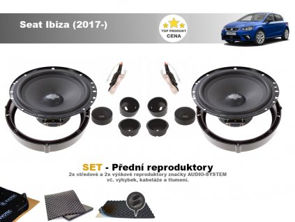 Seat Ibiza (2017 ) Audio system MX FIT predni