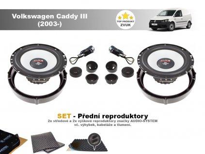 Volkswagen Caddy III M přední